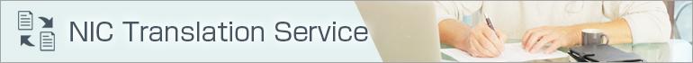 NIC translation service